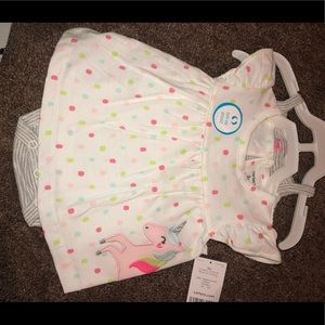 Cute Carters dress with undershirt